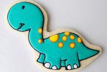 Decorated cookies, animals