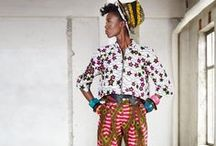 Wax African Patterns / The african famous fabrics and pattern into fashion and design