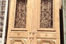 Doors and handles
