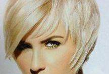 Short edgy blonde haircuts