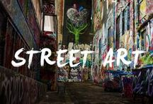 Urban Street Art and Graffiti / A pinterest board featuring street art and graffiti from around the world that I come across on my travels and adventures. Most photographs featured are my own and taken with my Canon t4i 650 Rebel, or with my iPhone 6. I edit the photos in Snapseed, VSCOcam, and Lightroom.