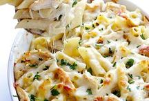 Pasta - Easy Recipes and Menu Ideas / Easy recipes and menu ideas for pasta entrées, salads and side dishes.