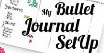 Bullet Journaling / Layouts, ideas and inspiration ♥