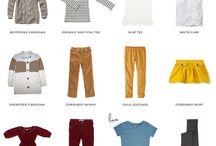 capsule wardrobe. kid.