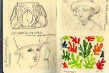 Journals & Sketchbooks I love.