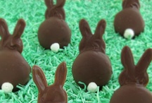 Hop to it! / Don't put all of your eggs in one basket. ~Easter Bunny / by Shari ♥