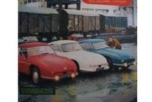 *L'Automobile (années 50) / L'un de ces magazines vous intéresse ? Pour en savoir plus, cliquez dessus. Deux fois.