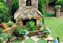 Extérieurs: jardin, fleurs, piscines / by Cookingmymy (Audrey)