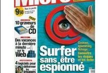 *Micro Hebdo / L'un de ces magazines vous intéresse ? Pour en savoir plus, cliquez dessus. Deux fois.