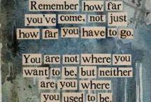 Words / by Eryn Stafford