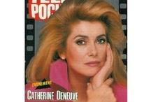 Catherine Deneuve / L'un de ces magazines vous intéresse ? Pour en savoir plus, cliquez dessus. Deux fois.