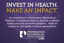 About Us / by Pennington Biomedical