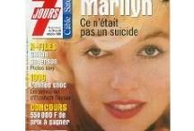 Marilyn Monroe / L'un de ces magazines vous intéresse ? Pour en savoir plus, cliquez dessus. Deux fois.