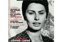Sophia Loren / L'un de ces magazines vous intéresse ? Pour en savoir plus, cliquez dessus. Deux fois.