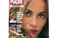 Emmanuelle Béart / L'un de ces magazines vous intéresse ? Pour en savoir plus, cliquez dessus. Deux fois.