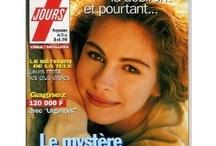 Julia Roberts / L'un de ces magazines vous intéresse ? Pour en savoir plus, cliquez dessus. Deux fois.