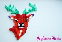 I ❤ DIY Strijkkralen / Colourful Hama beads / Perler beads