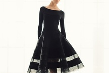 fave frocks and appealing apparel / a lot of black