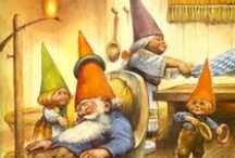 Gnormally I wouldn't admit this... / Gnomes make me stop and remember what it was like to be a child and believe in enchanted, magical, tiny, places.  / by Lana Fritsch