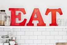 """△ kitchen dreams / """"The kitchen is the heart of every home."""" - Debi Mazar"""