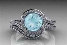 Modern Vintage Engagement Rings / Vintage designs for engagement rings or just beautiful finger candy