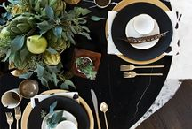 Tablescapes / Decorating tables