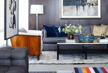 Masculine Home / Interior design