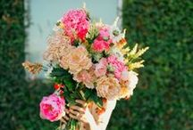 Weddings: Flowers / A mixture of gorgeous floral arrangements for your reception!