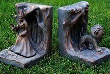 Books! - Bookends / by Terrea
