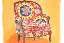Art, Chairs/Furniture Etc. / by Dolly Winkels