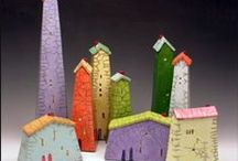 Crafts, Paper Houses / by Dolly Winkels