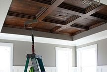 Ceiling inspiration / Decorating ceilings