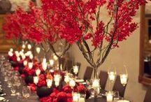 Weddings: Colors: Red