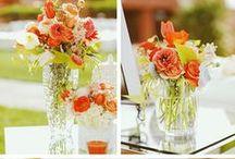 Weddings: Colors: Orange