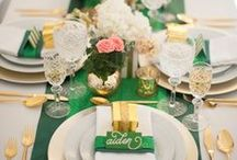 Weddings: Colors: Green