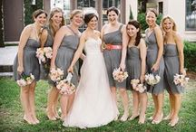 Bridesmaid styling / How do you want your ladies in waiting to look on your special day? / by Deb Smith