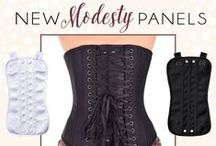 New Arrivals / The latest and greatest corsets and things to wear.