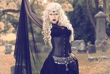 Night Vixens / A collection of dark, Vampiric, and Victorian styles that are suited for Timeless Trends' more alternative clientele. Ranging from punk rock to gothic and cyber-punk fashions- we have it all!