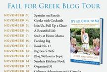 It's All Greek to Me Fall for Greek Blog Tour