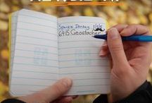 How to Geocache with Kids / Fun ideas and tips for geocaching with kids. #geocache #howto #DIY