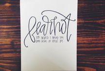 he restores my soul / by Taylor Agathen