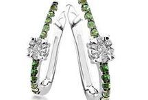 Cercei cu diamante / Diamond Earings