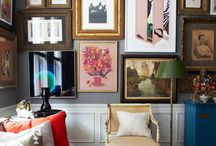 Gallery wall inspiration / Gallery walls