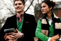 Ivy League classics / Style rooted in heritage and tradition with preppy, intellectual character
