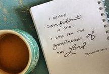 scripture / by Taylor Agathen
