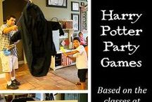 Harry Potter Birthday Party Ideas / Ideas for a perfect summertime Harry Potter Party including pool games, indoor games and activities, food and decorations.