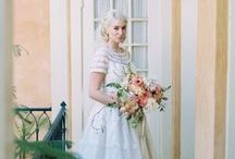 Mill Crest Vintage Brides / Real Brides!  Real Dresses!  From our collection at www.millcrestvintage.com / by Mill Crest Vintage Bridal Boutique