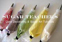 Cake/Sugar ArtsTutorials / by Layer Cakes