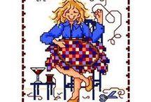 She quilts... / by Deb Schweigert