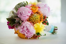 Wedding Florals / Wedding reception flowers & bridal bouquets ideas